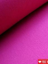 Stretch katoen framboos roze