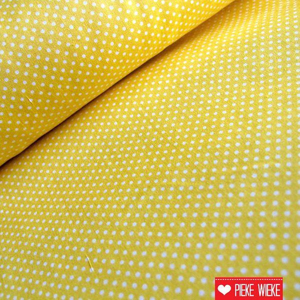 Kleine stipjes vanille geel