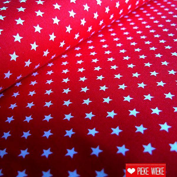 Kleine sterretjes rood