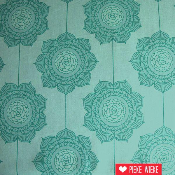 Riley Blake Cottage Wallpaper Teal