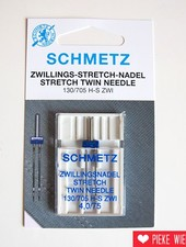 Schmetz Machine needles twin needle stretch 4,0 / 75