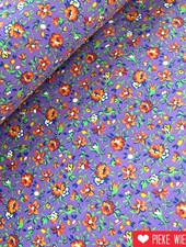 Spring flowers paars - oranje