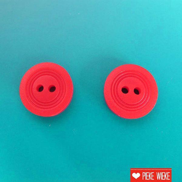 Rode knoop 14mm