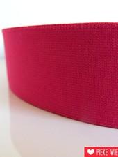 Zachte elastiek Fuchsia 40mm