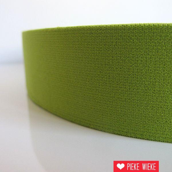 Zachte elastiek Limoen 40mm