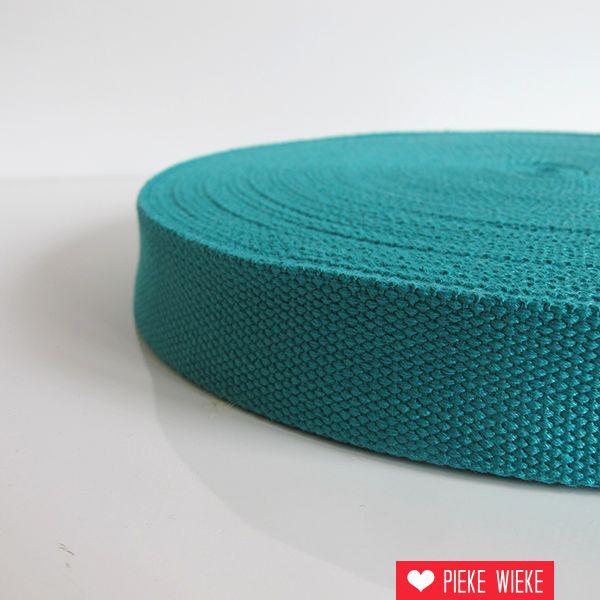 Tassenband turquoise 32mm