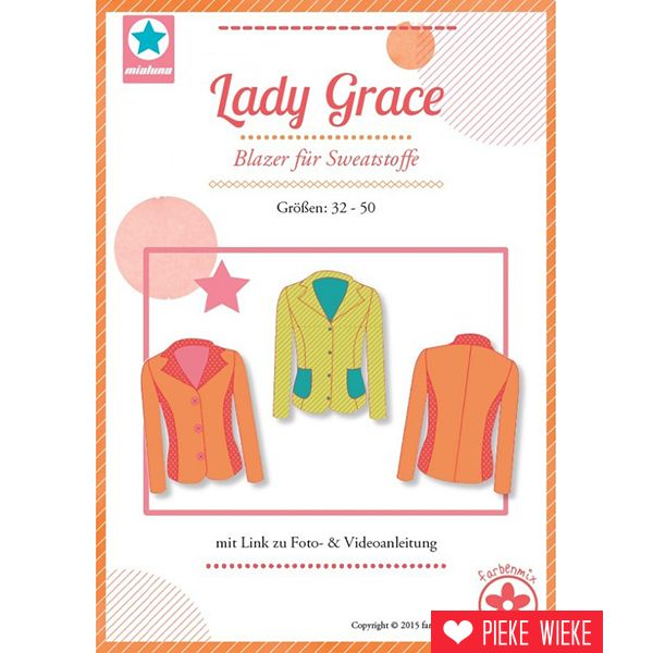 Farbenmix Patroon Lady Grace Blazer