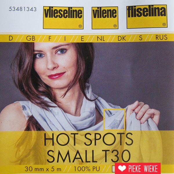 Vlieseline Hot Spots T30 - Small