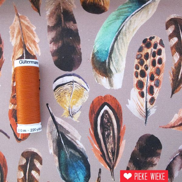 Canvas Feathers