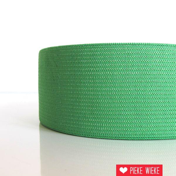 Elastiek groen 40mm