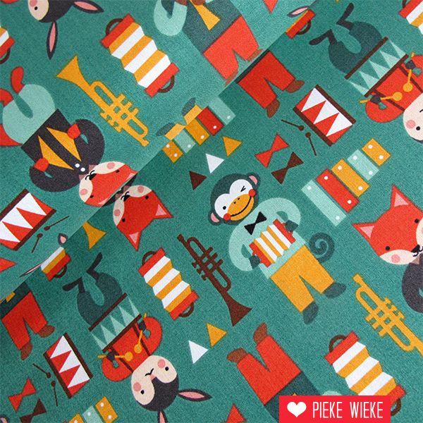Windham Fabrics Party animals music