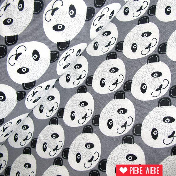 Sweat Panda grijs