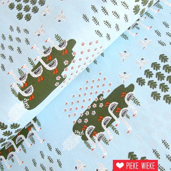 Windham Fabrics Gardening geese