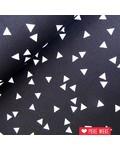 Triangles black white