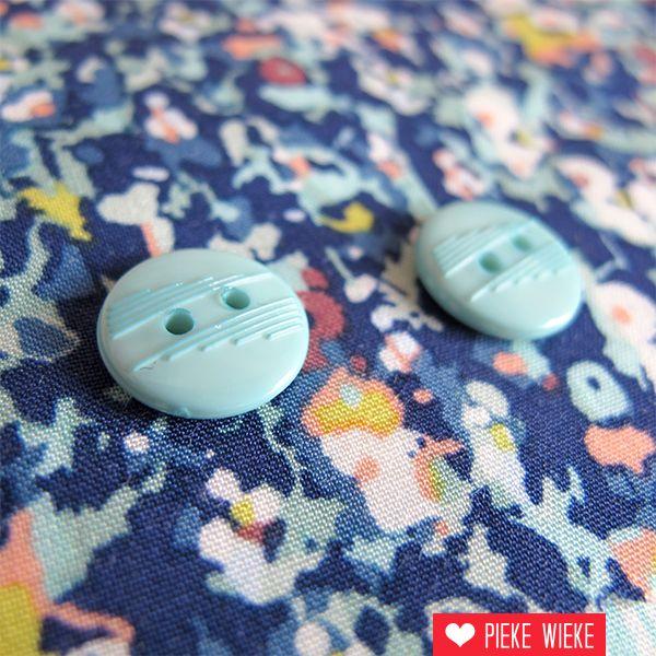 Aqua button 13mm