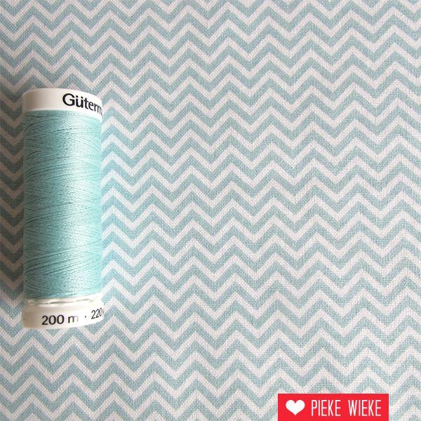 Rico design Chevron ice blue