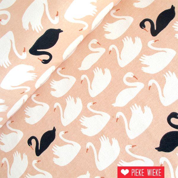 Birch Fabrics Tricot Swan lake