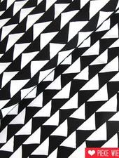 Katoen Gingiber driehoeken