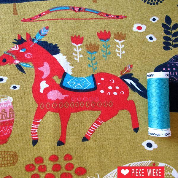 Birch Fabrics Organic knit Wildland