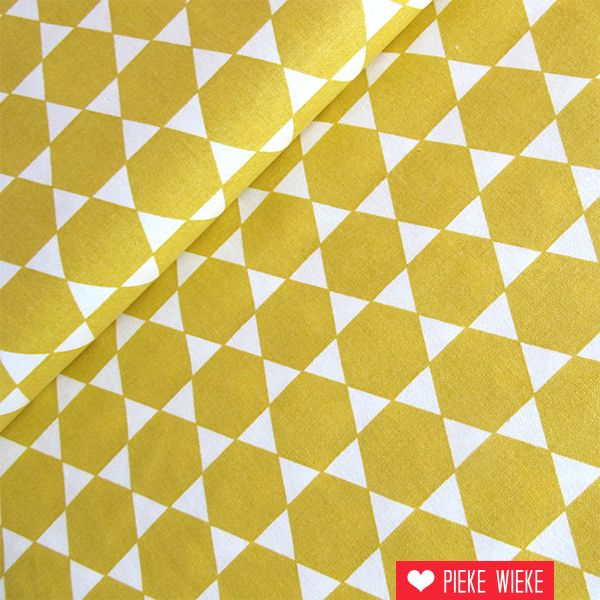 Rico design Hexagons mustard