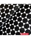 Rico design Hexagons black