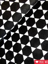 Rico design Zeshoeken zwart