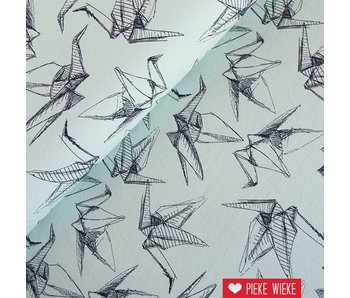 Sweat Sketched birds mint