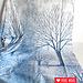 Robert Kaufman Sound of the woods bomen paneel +/-60cm