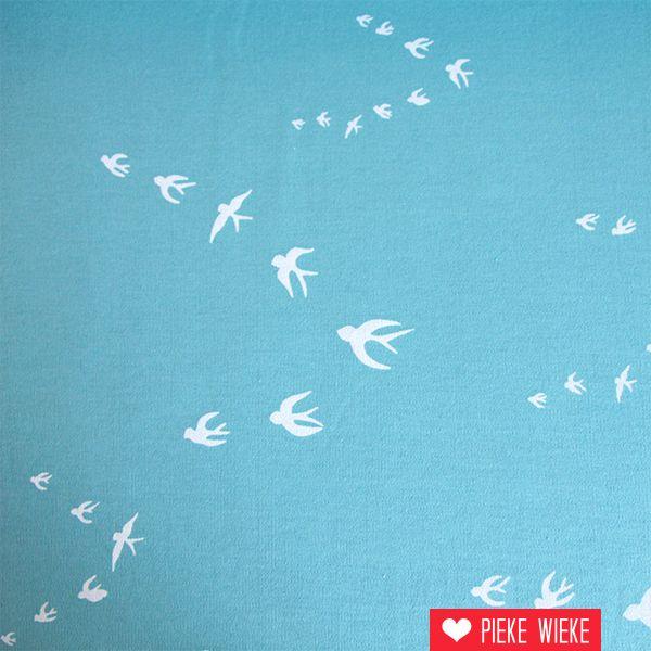 Interlock Flock turquoise