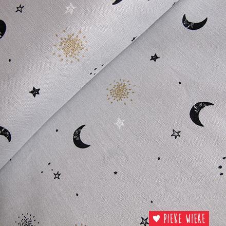 Poppy Stars glitter gray