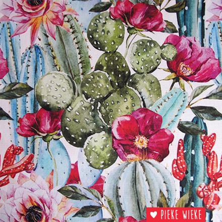 Canvas Cactus life