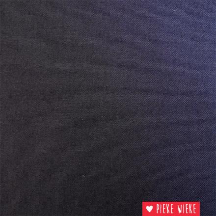 Canvas Uni Donker blauw
