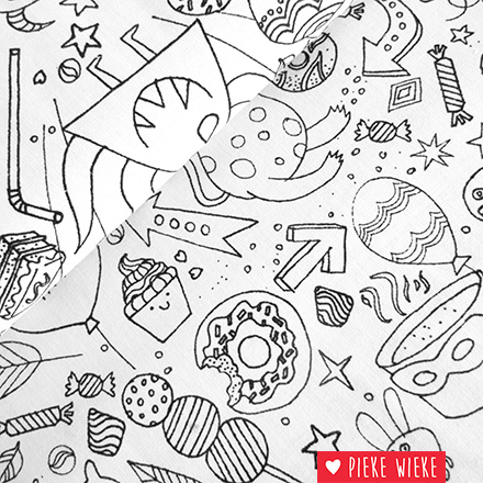 Rico design Fabrich colouring activity