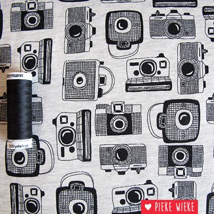Tricot camera's grijs