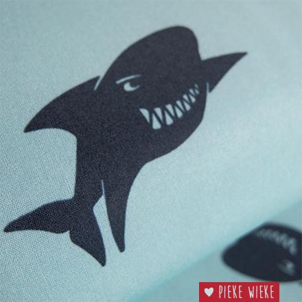 Poppy Softshell Sharks blauw