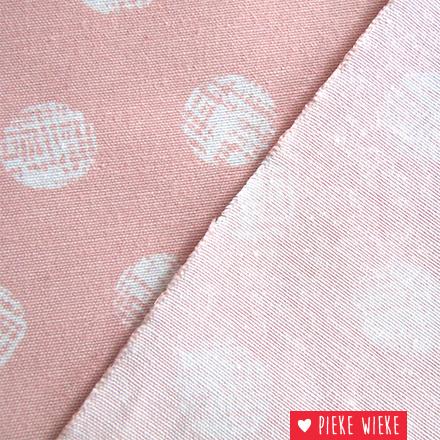 Canvas Dot pink