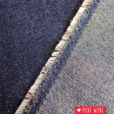 Denim blue gold