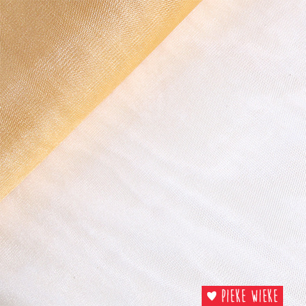 Fijne glitter oranje goud