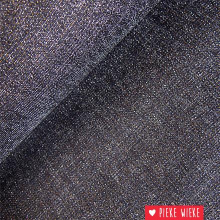 Jeans Zwart met goud