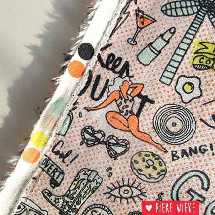 Rico design Katoen Cool girls