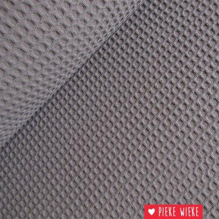 Waffled coton gray