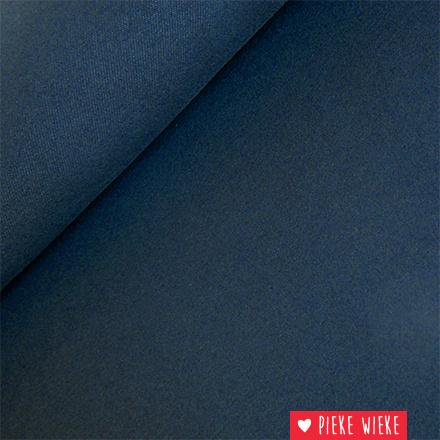 Jeanstricot blauw