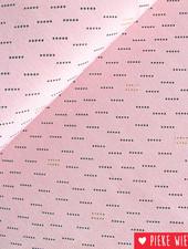 Pearl Peach Roze - goud