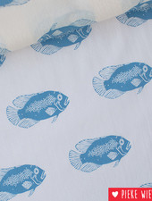 See You At Six Cotton Lawn Fish