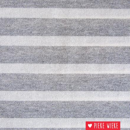 Glitter knit lines Gray
