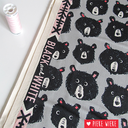 Cotton + Steel Cozy bears gray