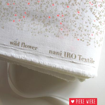 Nani Iro Double Gauze Wild flower
