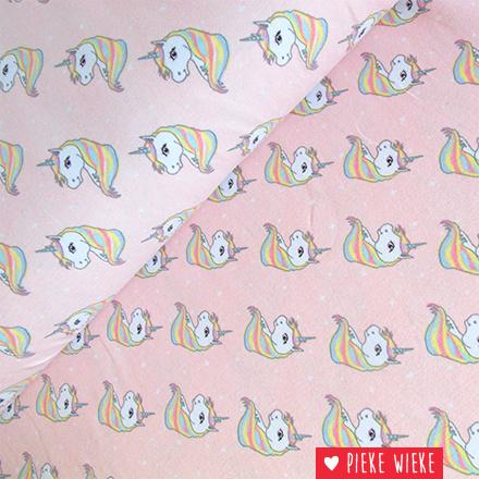 Tricot Starburst unicorn roze