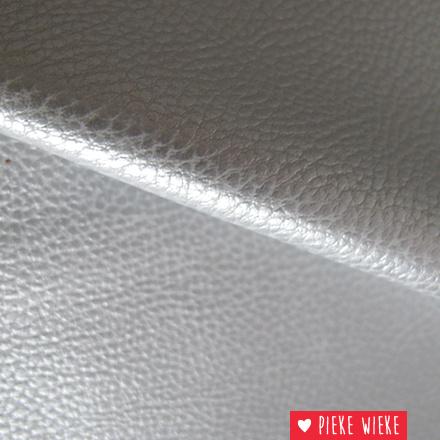 Kunstleer Zilver