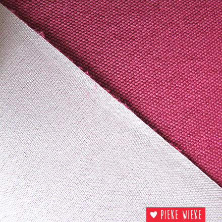 Polyester Canvas Roze